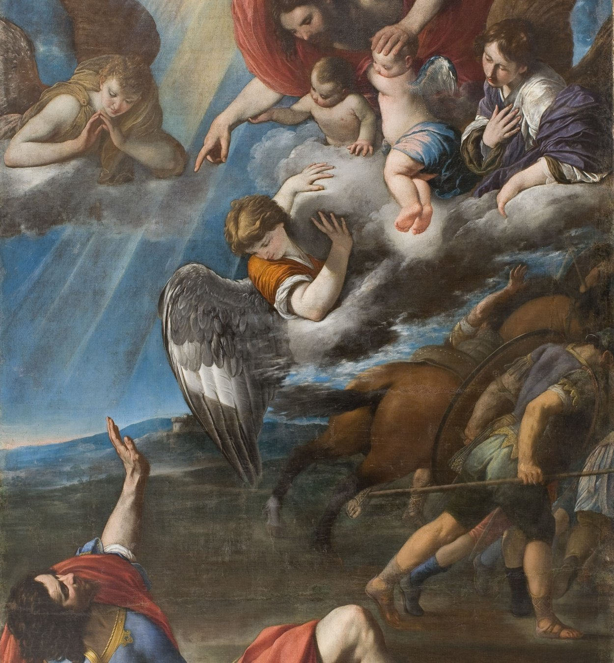 Juan Bautista Maíno - The Conversion of Saint Paul - Circa 1614