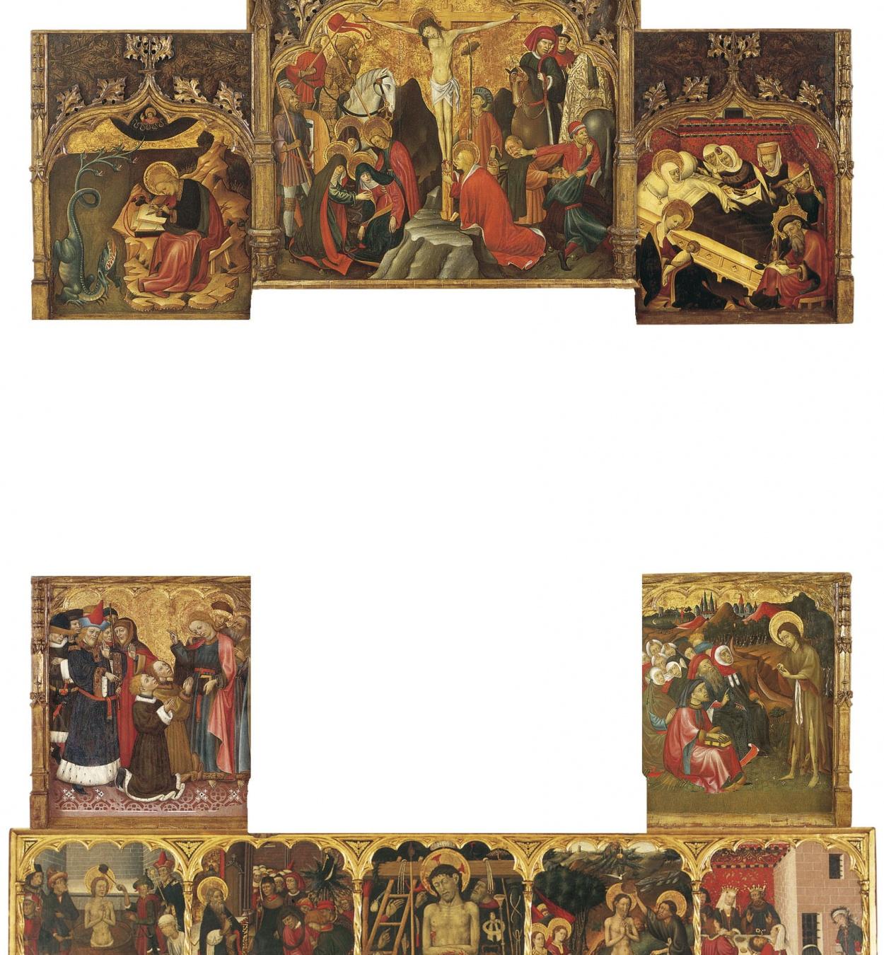 Bernat Martorell - Retaule dels sants Joans - Cap a 1435-1445