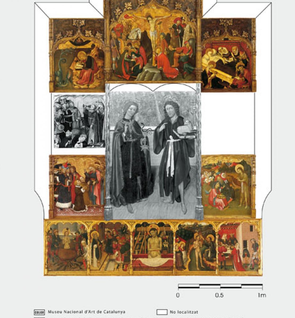 Bernat Martorell - Retaule dels sants Joans - Cap a 1435-1445 [1]