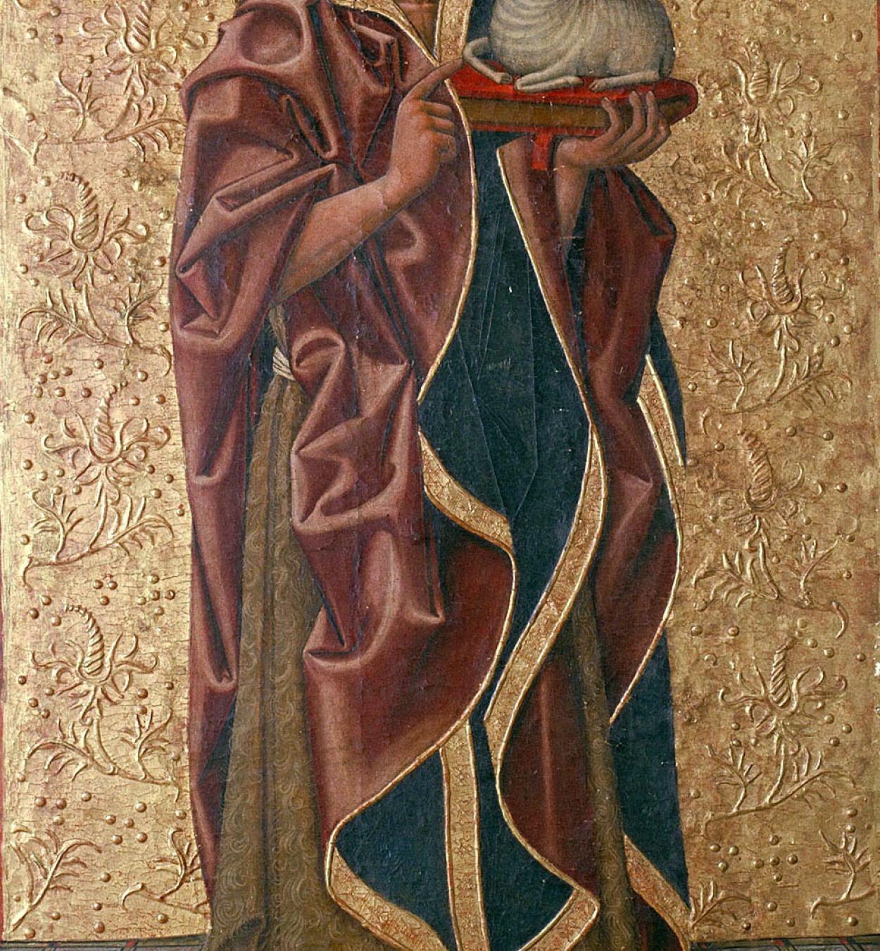 Juan de la Abadía (el Vell) - Saint John the Baptist - Last quarter of the 15th century