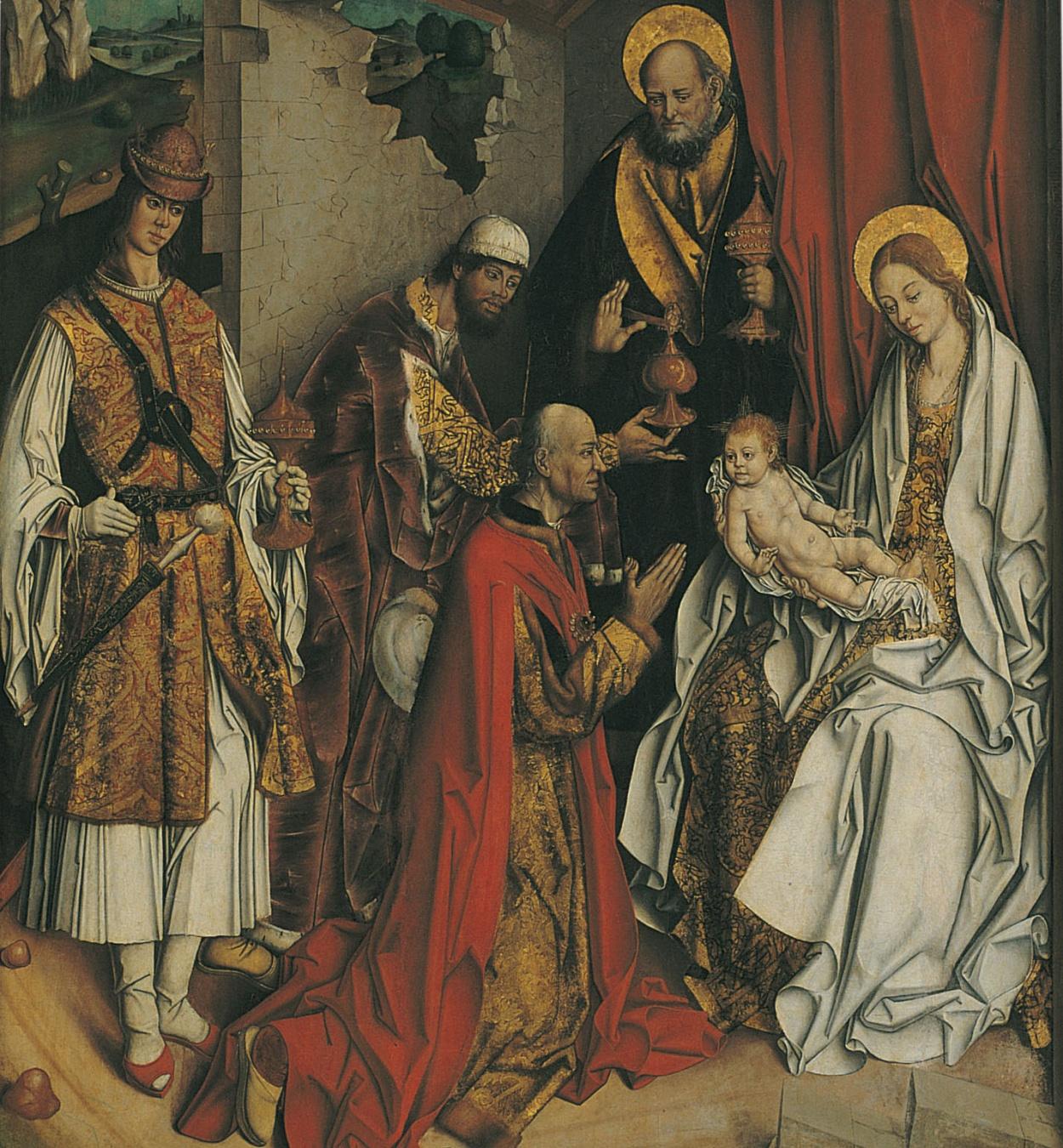 Fernando Gallego - Epifania - Cap a 1480-1490