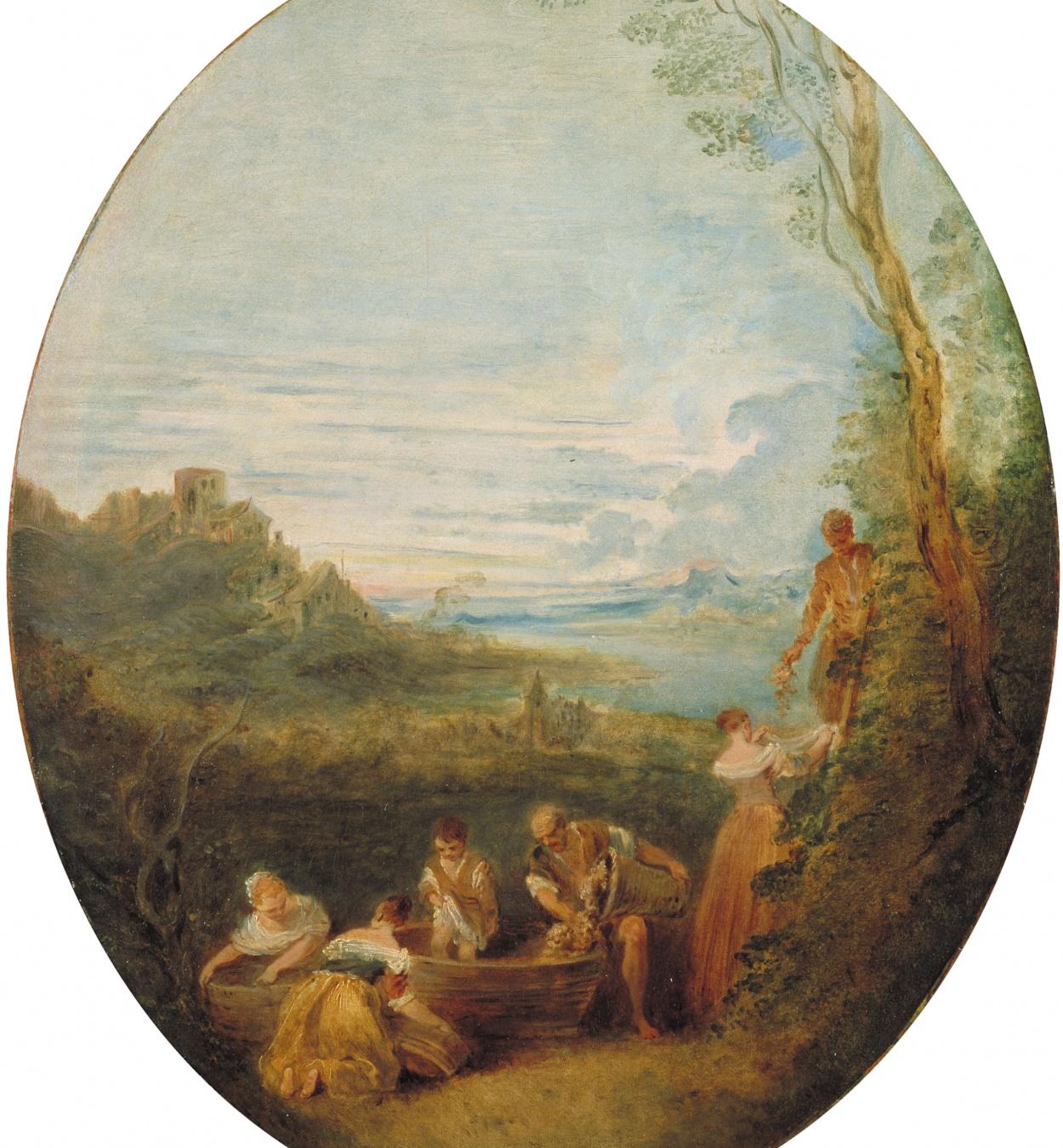 Jean-Baptiste Pater - La tardor - Cap a 1725