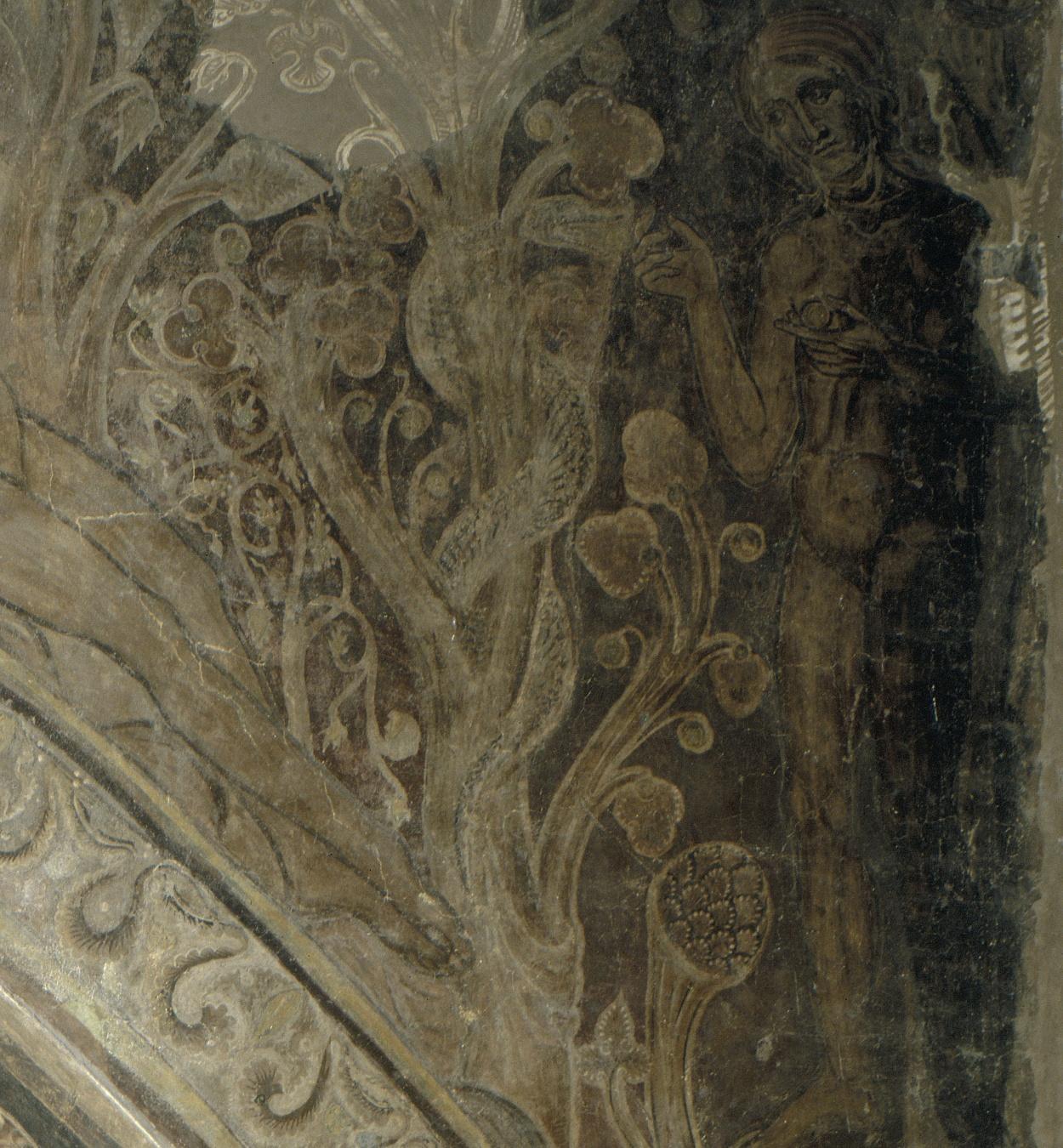 Mestre de la sala capitular de Sixena - Pecat Original, de la sala capitular de Sixena - Entre 1196-1200 [2]