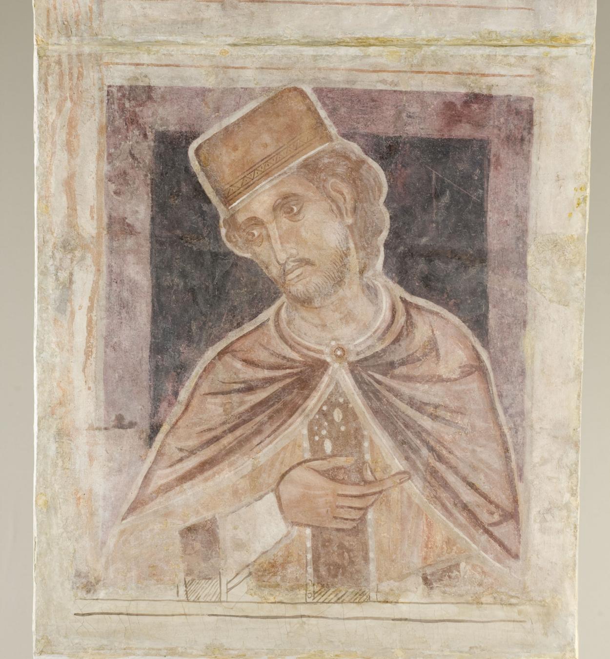 Mestre de la sala capitular de Sixena - D'Er a Simeó de la genealogia de Crist segons Lluc, de la sala capitular de Sixena - Entre 1196-1208 [5]