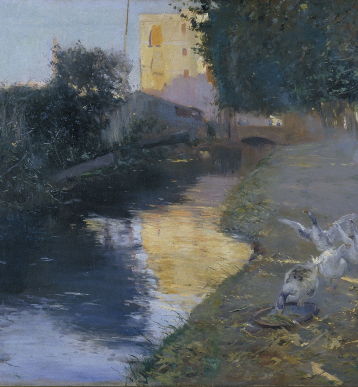 Joaquim Mir - The Ditch - 1897