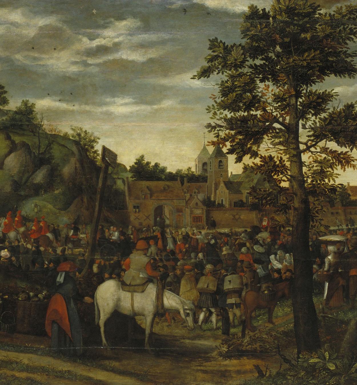 Hans van Wechelen - Camí del Calvari - Cap a 1550