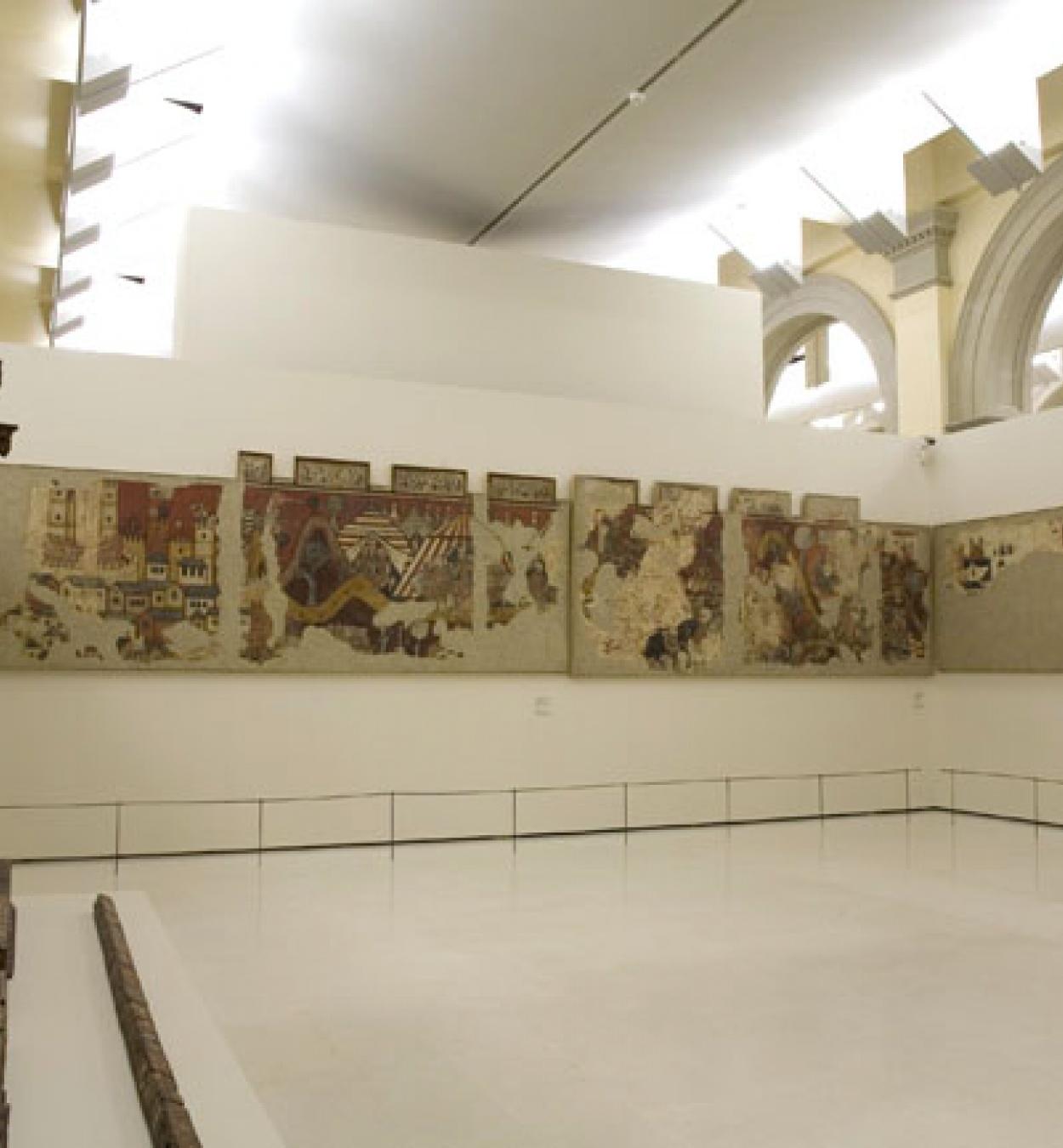 Mestre de la conquesta de Mallorca - Pintures murals de la conquesta de Mallorca - 1285-1290 [1]