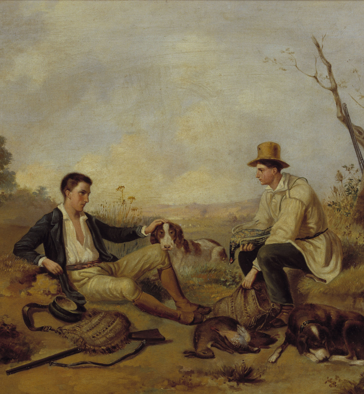 Marià Fortuny - A Break in the Hunting - Barcelona, 1857