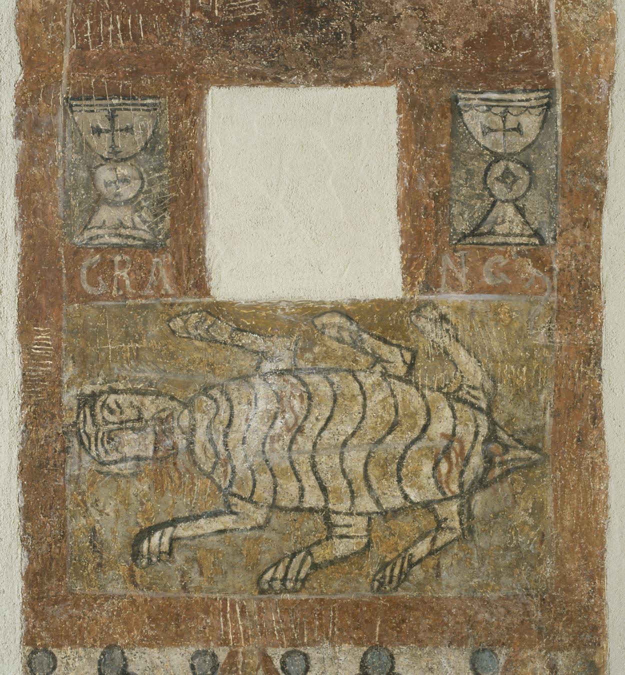 Tercer Mestre de Sorpe - Sant Pastor i el símbol zodiacal de Càncer de Sorpe - Mitjan segle XII [4]