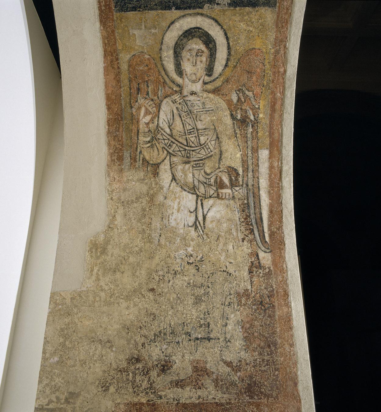 Tercer Mestre de Sorpe - Arcàngel i símbol zodiacal de Sagitari de Sorpe - Mitjan segle XII [1]