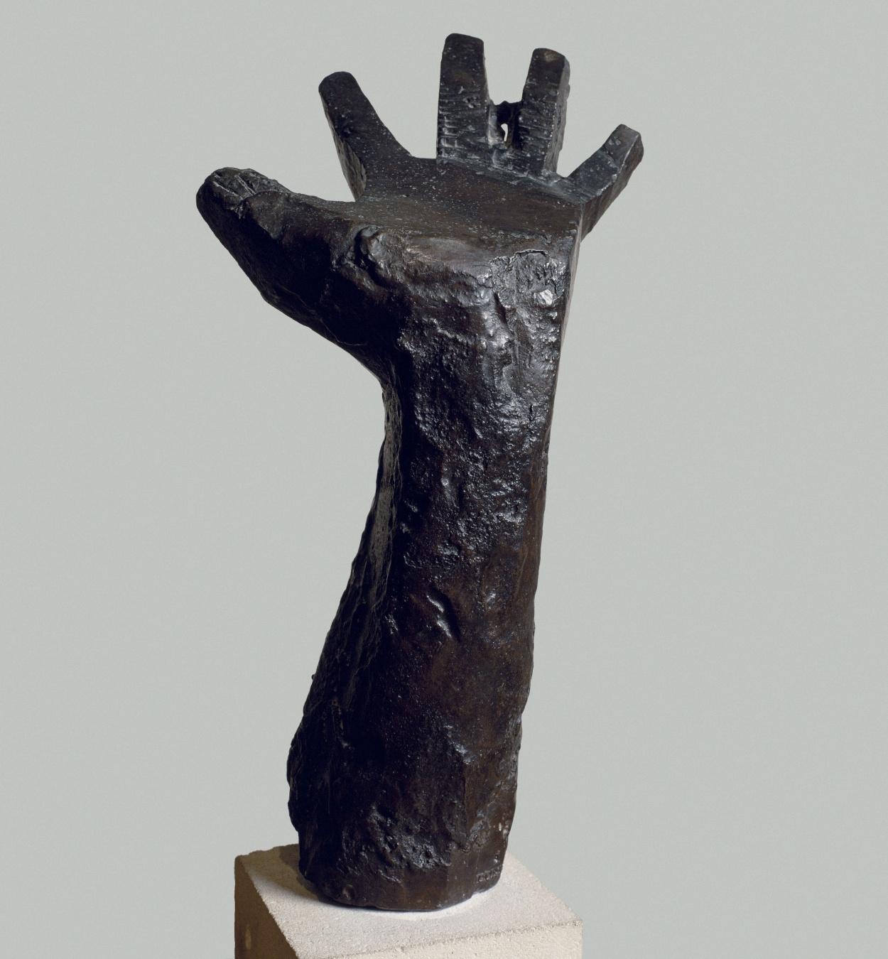 Juli González - Mà esquerra aixecada - Cap a 1942