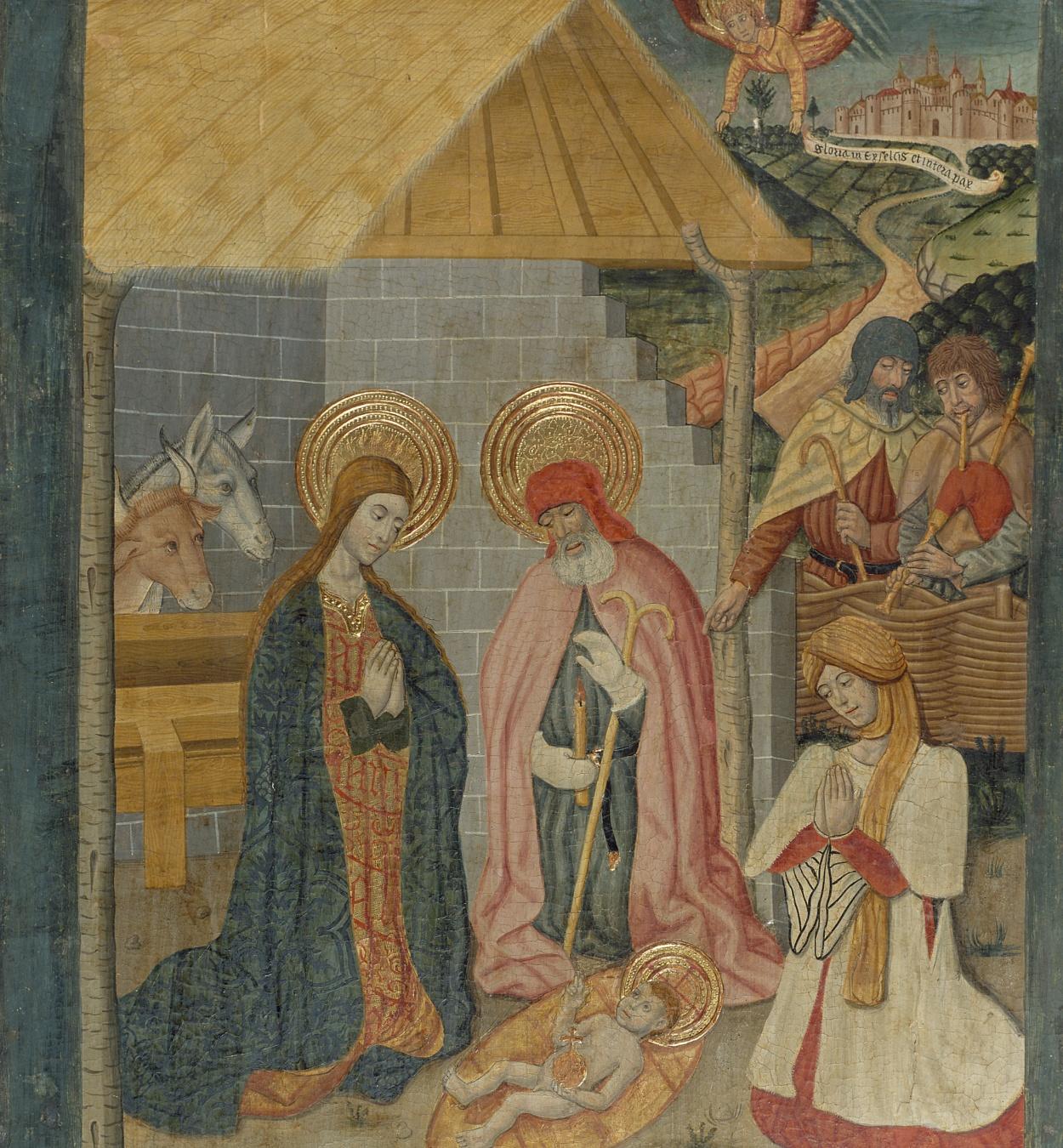 Pere Garcia de Benavarri - Nativitat - Cap a 1475
