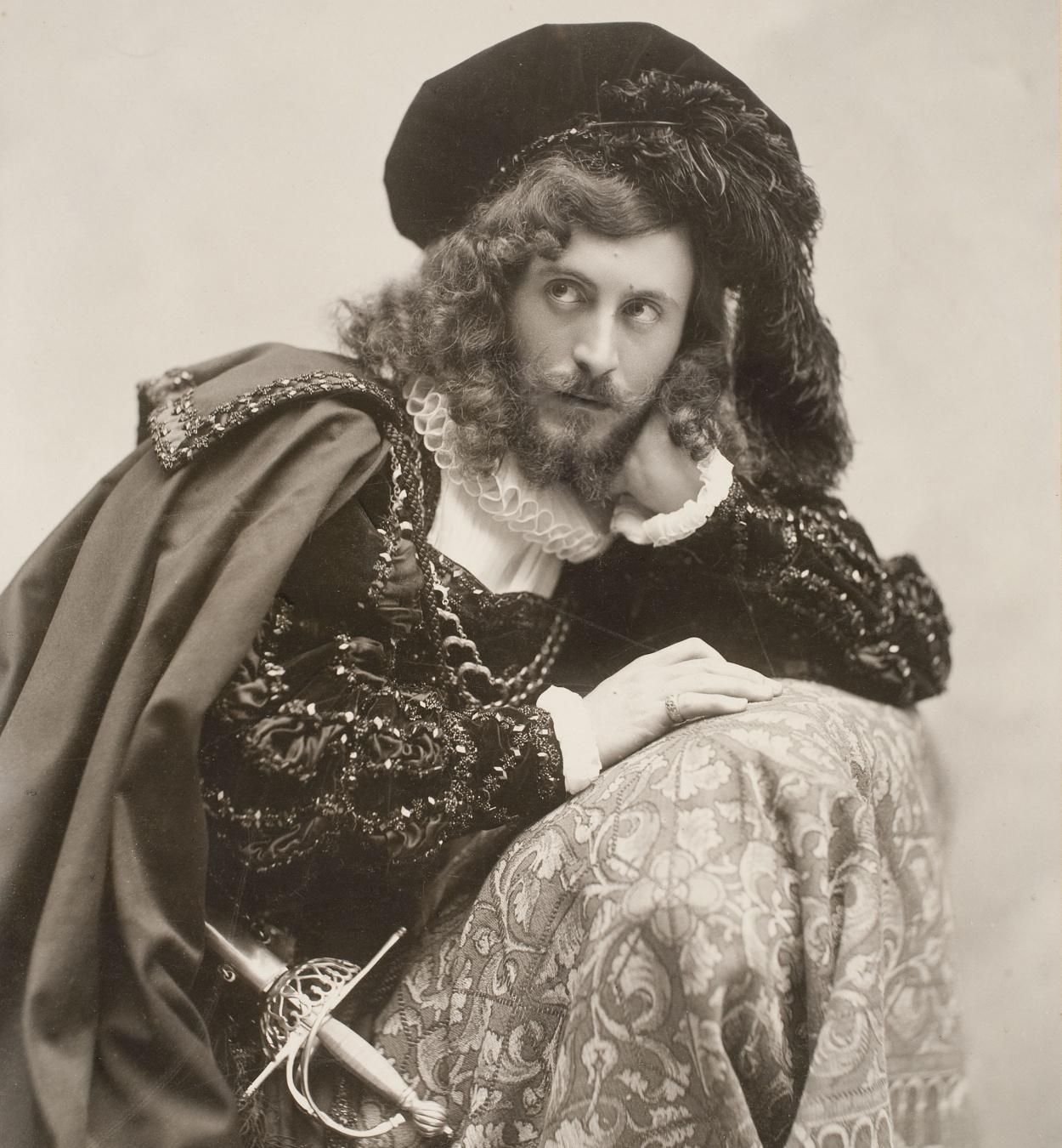 Pau Audouard - Portrait of Eusebi Bertrand Serra dressed as Hamlet - Undated