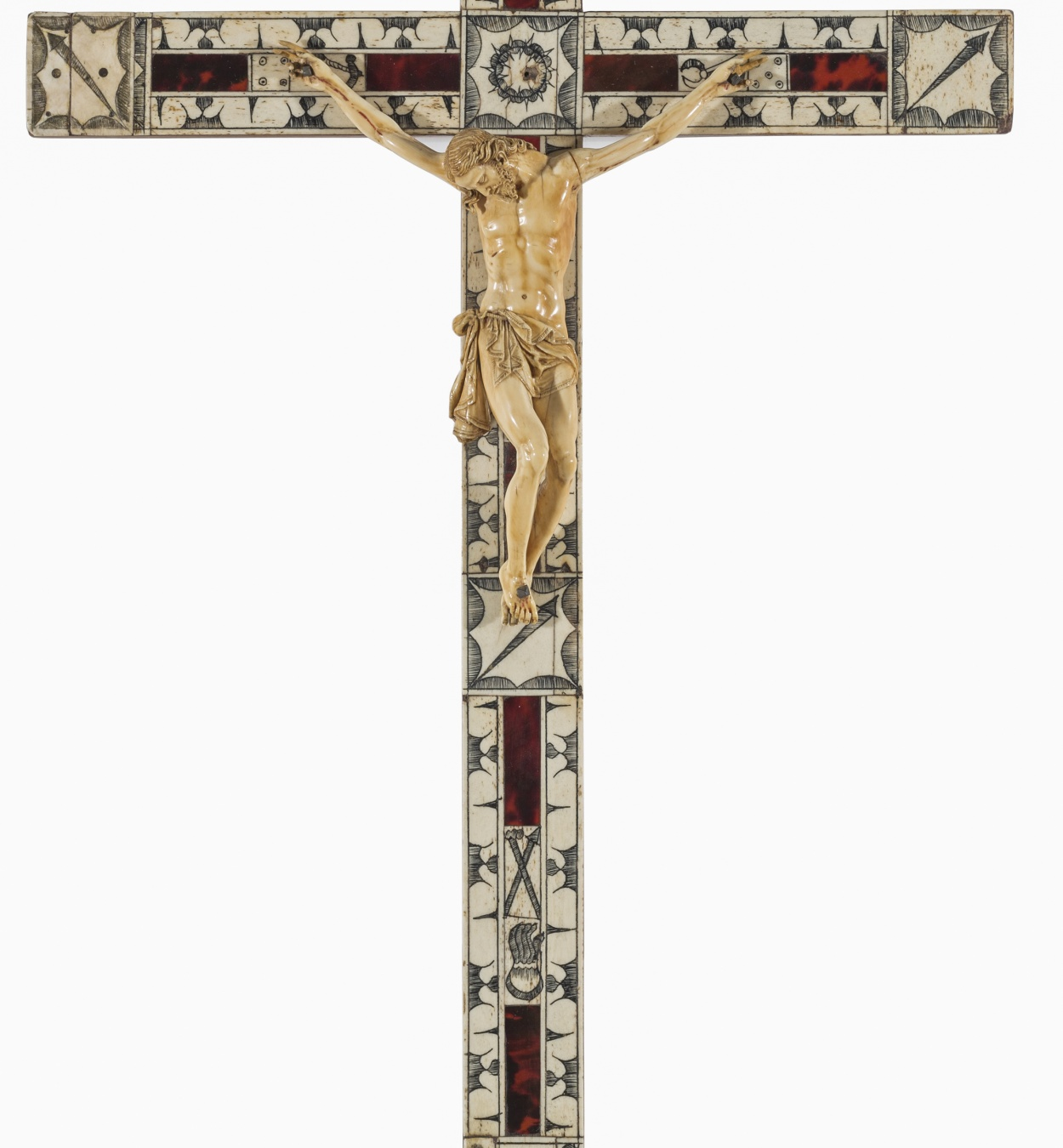 Anònim. Itàlia - Crucified Christ  - First quarter of the 17th century