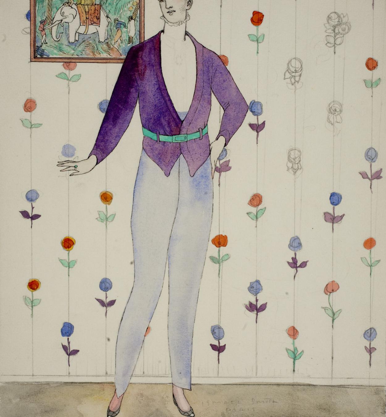Ismael Smith - Fashion plate - Circa 1913