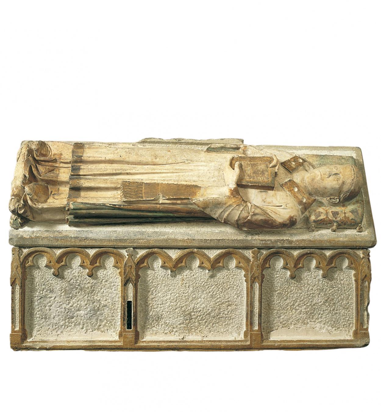 Joan de Tournai - Sepulcre d'Hug de Cardona (mort el 1330) - 1327