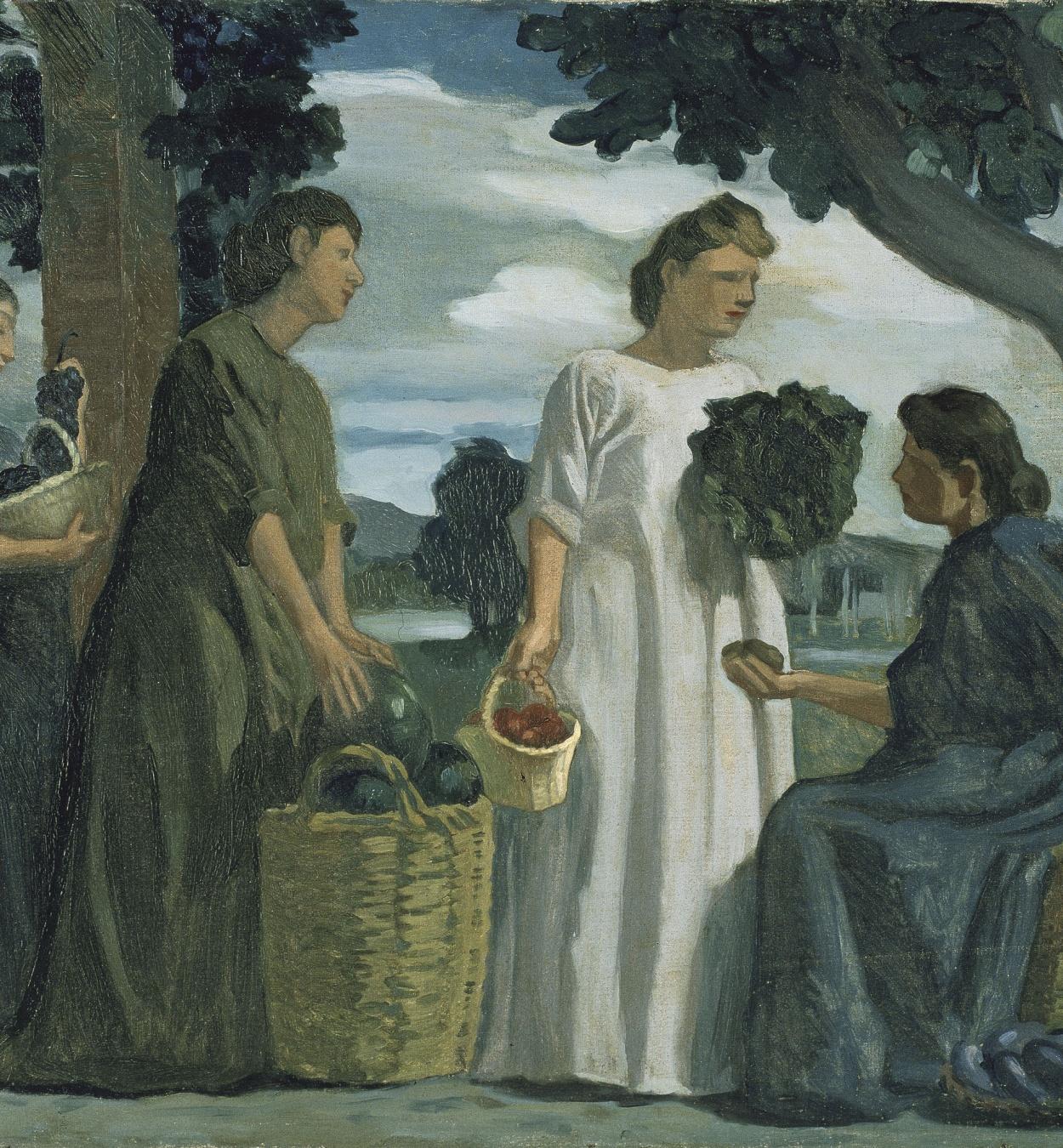 Joaquim Torres-García - Dones de poble - 1911
