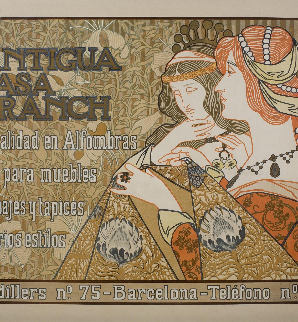 Alexandre de Riquer - Antigua Casa Franch - 1899