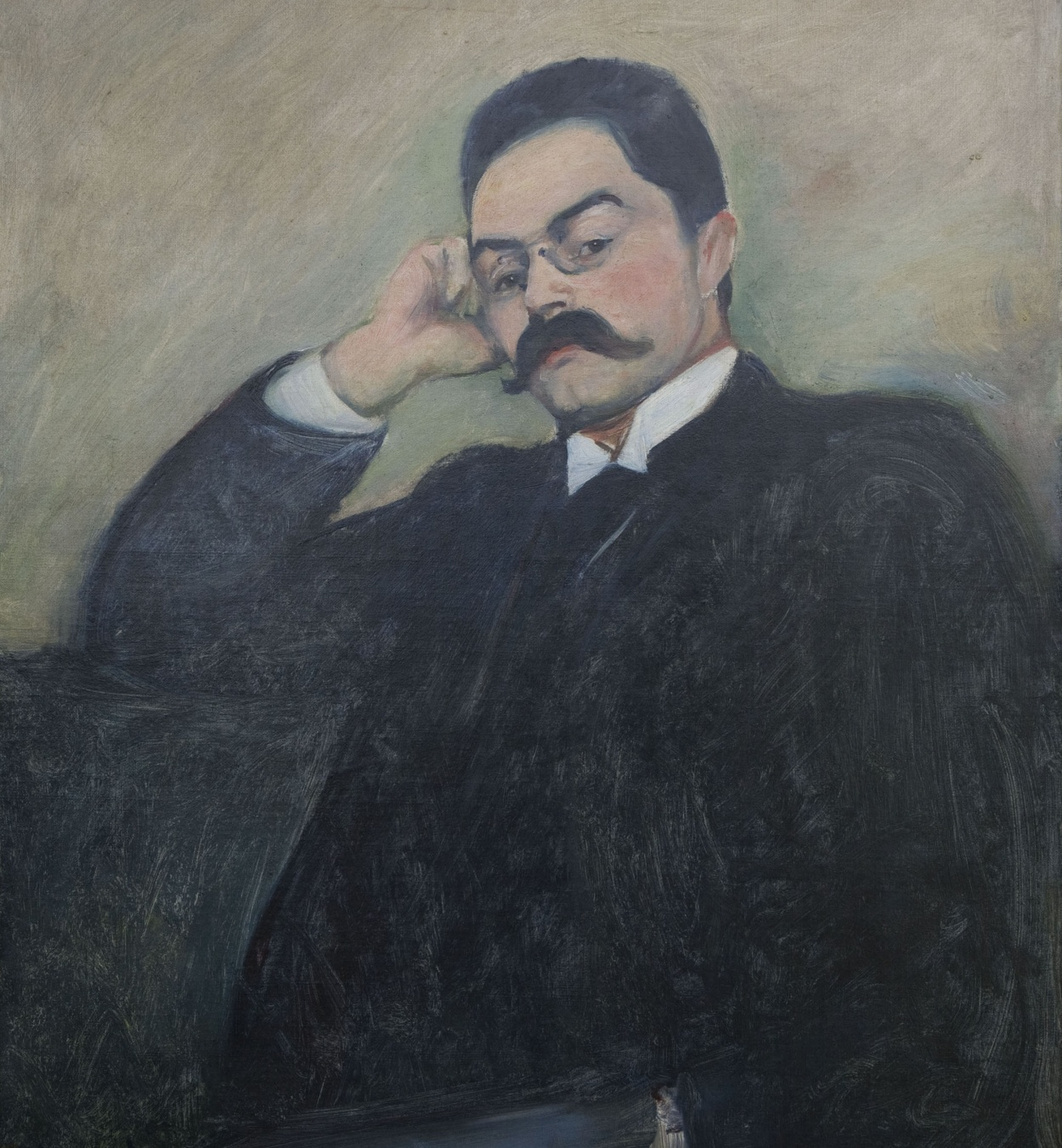 Edvard Munch - Portrait of Thor Lütken - 1892