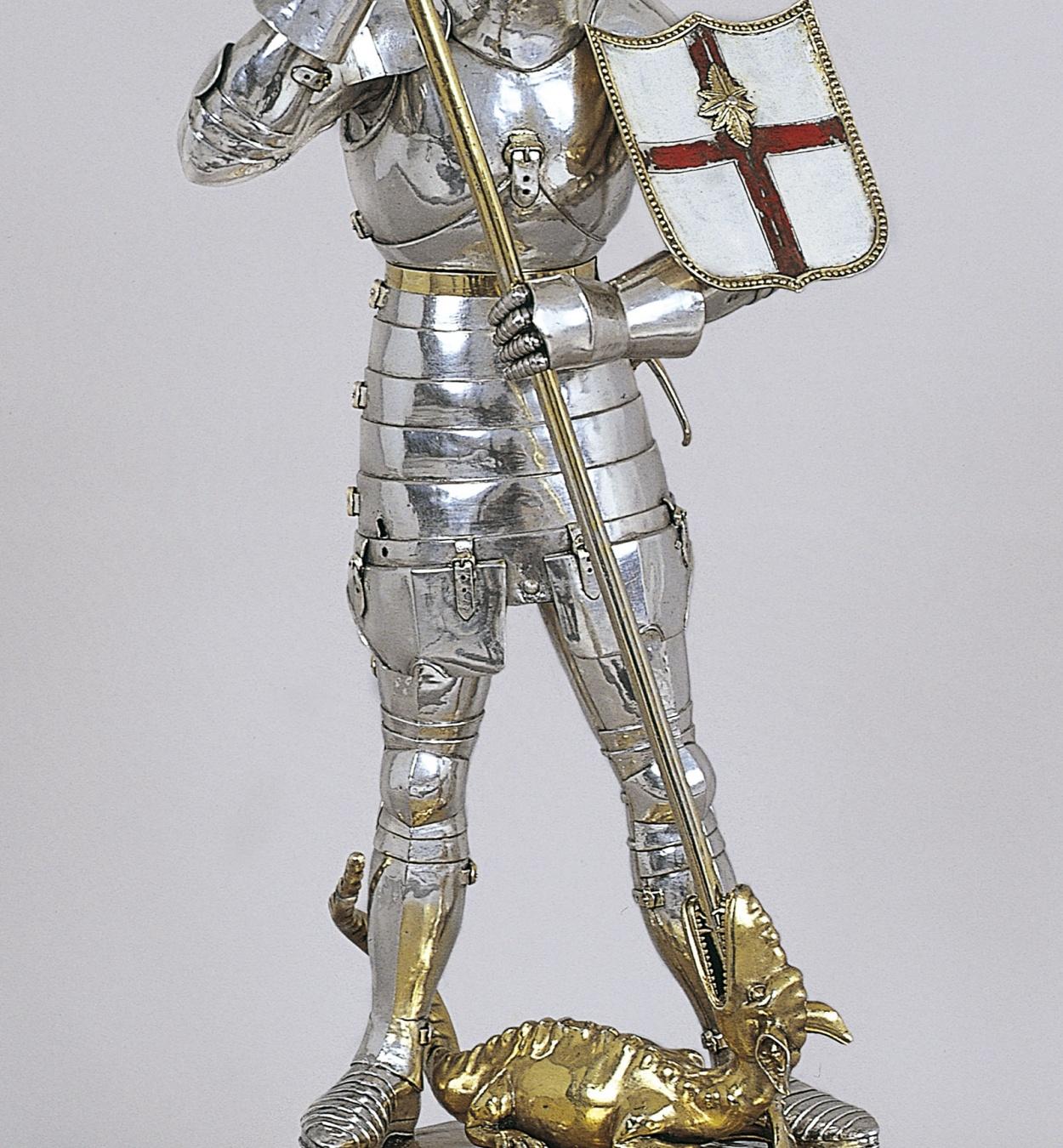 Anònim - Sant Jordi matant el drac - Cap a 1420-1450