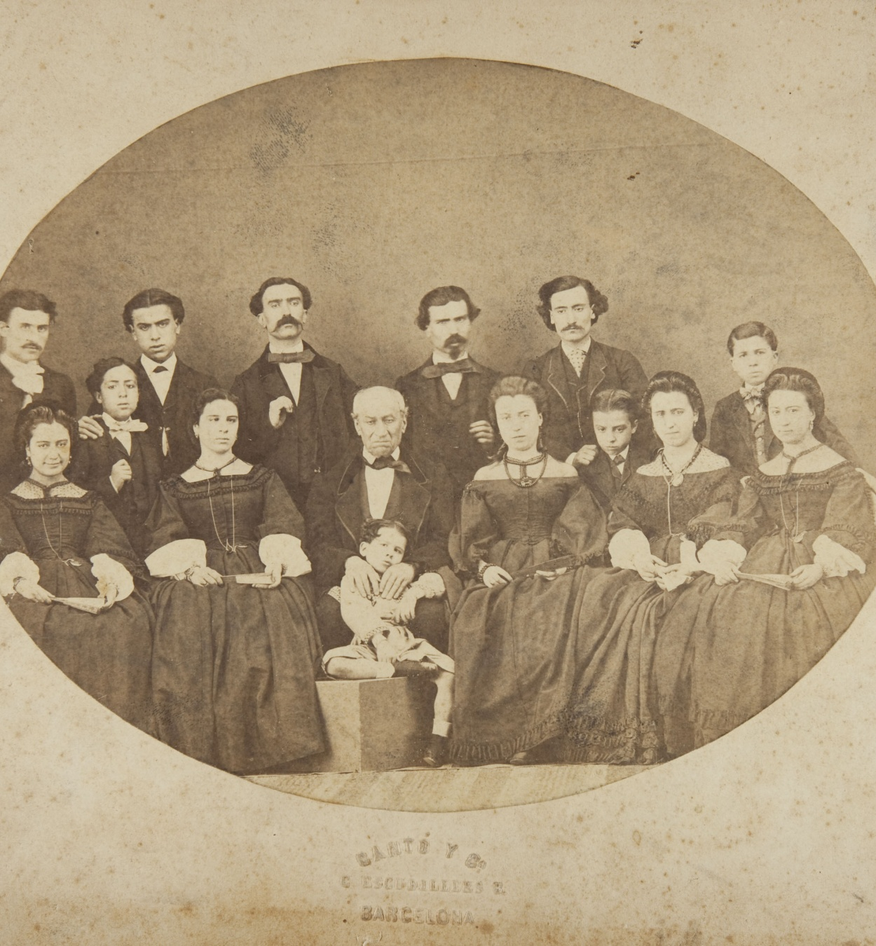 Cantó y Cía. Barcelona - Family portrait - Undated