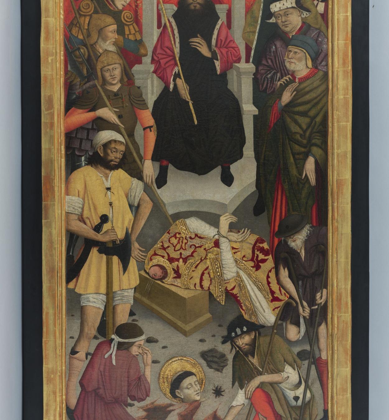 Lluís Dalmau - The Beheading of Saint Baudilus - circa 1448