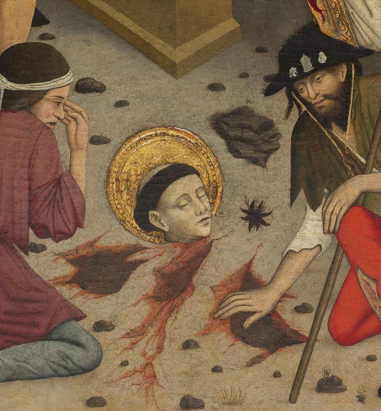 Lluís Dalmau - The Beheading of Saint Baudilus - circa 1448 [2]