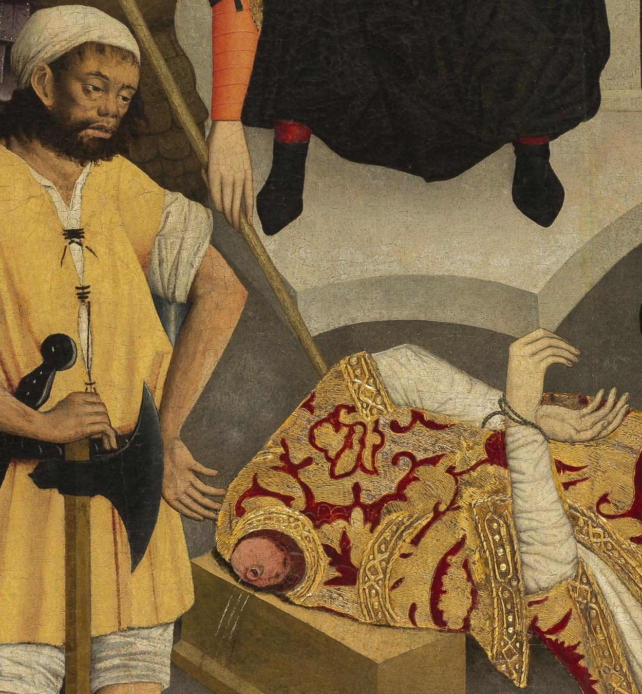 Lluís Dalmau - The Beheading of Saint Baudilus - circa 1448 [3]