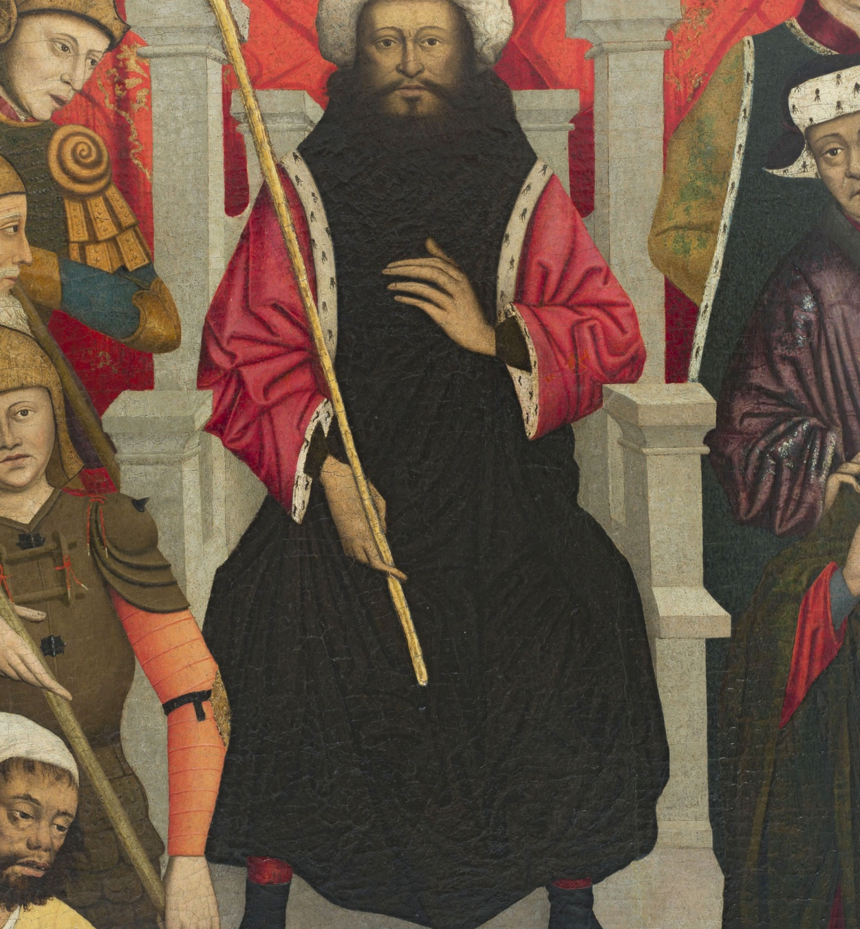 Lluís Dalmau - The Beheading of Saint Baudilus - circa 1448 [1]