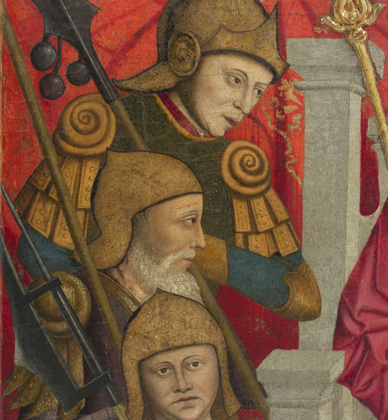 Lluís Dalmau - The Beheading of Saint Baudilus - circa 1448 [4]