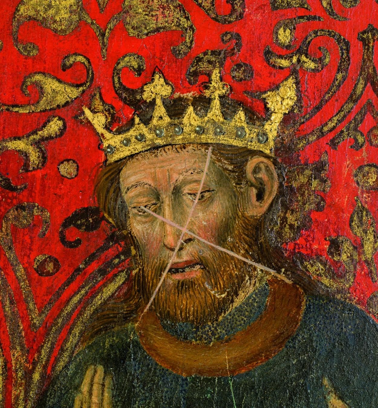 Bernat Martorell, Figura del Retaule dels Sants Joans, c. 1435-1445