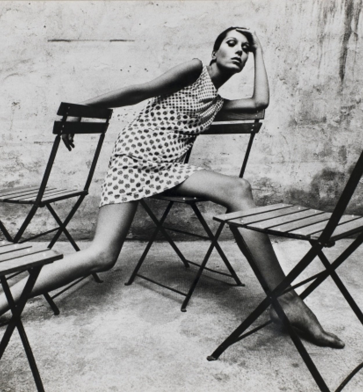 Oriol Maspons. Retrat Elsa Peretti, 1966. Museu Nacional d'Art de Catalunya, dipòsit de l'artista, 2011 © Arxiu fotogràfic Oriol Maspons, VEGAP, Barcelona, 2019