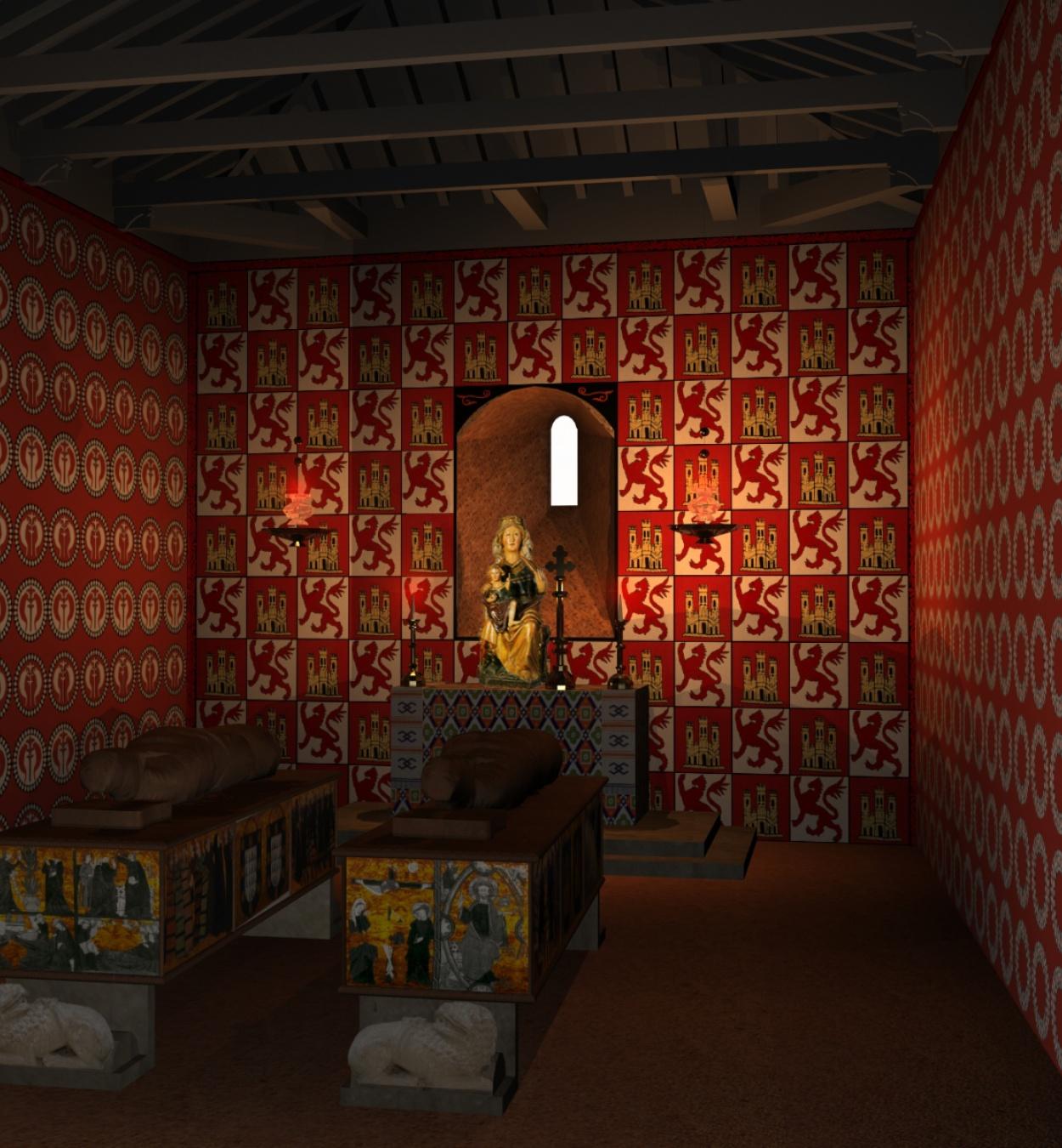 Anònim. Castella - Anunciació, Nativitat, Dormició i Coronació de la Mare de Déu - Cap a 1295 [1]