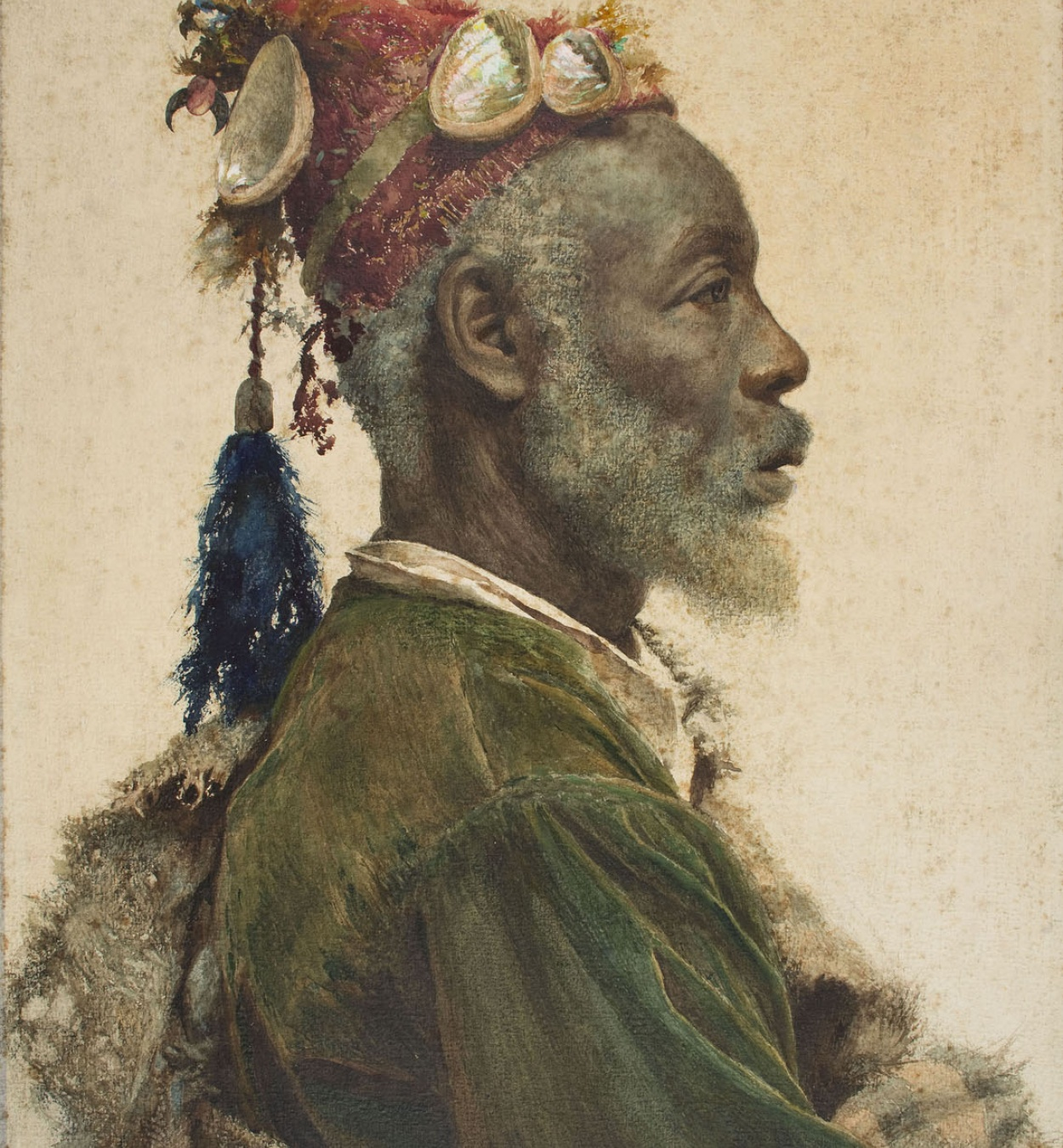 Josep Tapiró. El santón darcawi de Marrakech, c. 1895. Museu Nacional d'Art de Catalunya, Barcelona