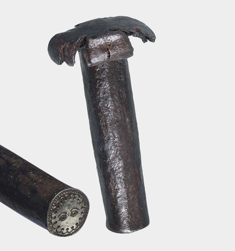 Acuñación a martillo