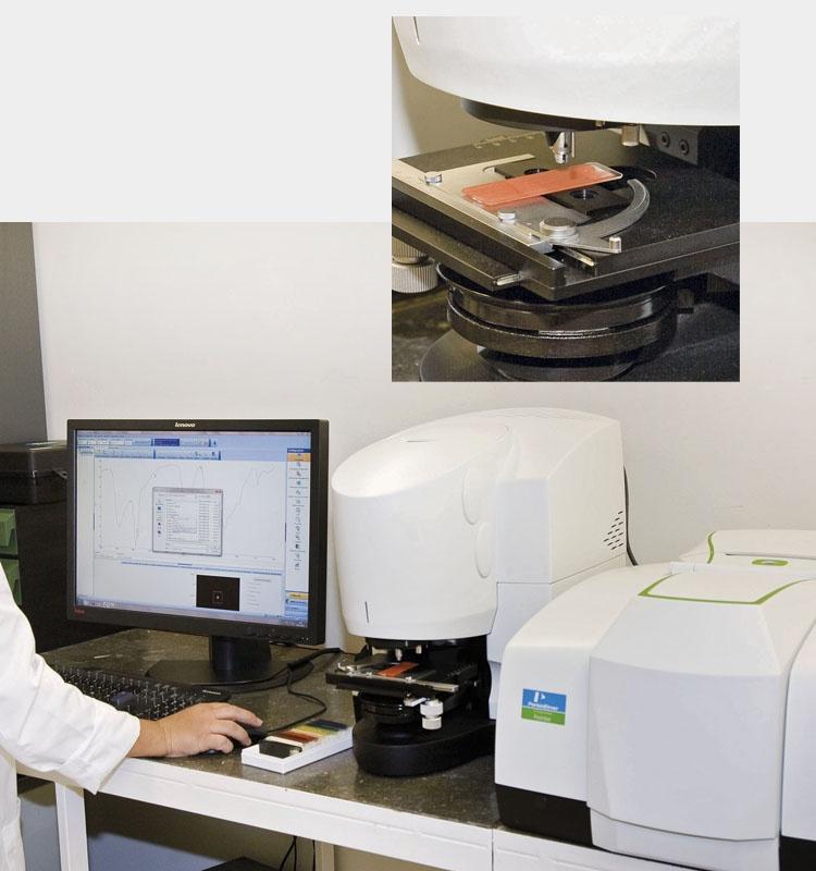 Microespectroscòpia d'infraroig