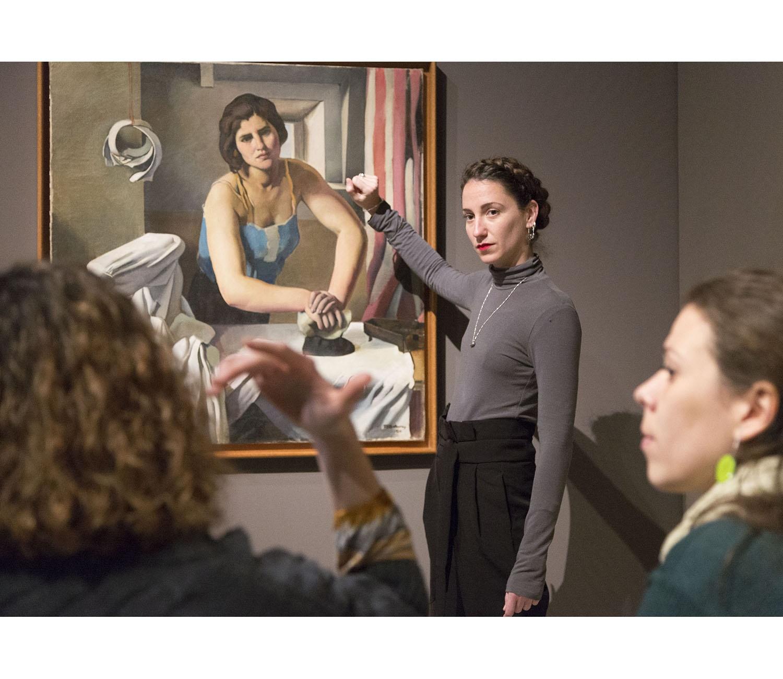 Nous tractaments a través de l'art: conveni entre L'Hospital Vall d'Hebron i el Museu Nacional