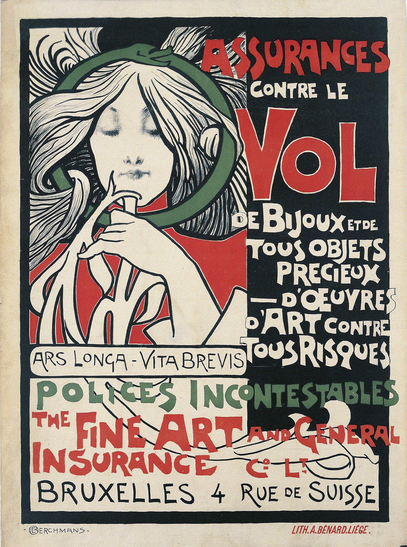 Émile Berchmans - The Fine Art and General Insurance Cº LT - 1896