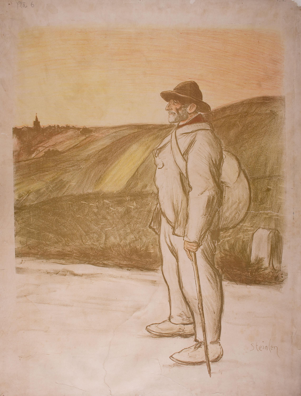 Théophile Alexandre Steinlen - [Le Chemineau] - 1896