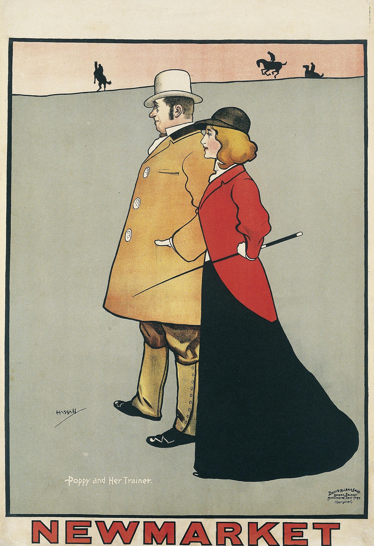 John Hassall - Newmarket - Cap a 1896