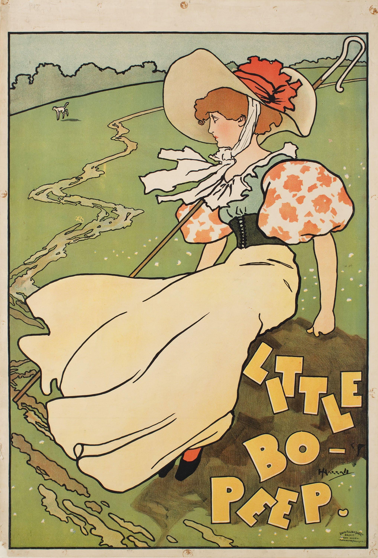 John Hassall - Little Bo-Peep - Circa 1893-1895