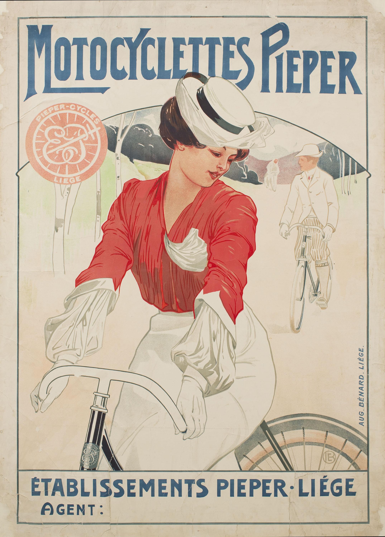 Émile Berchmans - Motocyclettes Pieper - Anterior a 1903