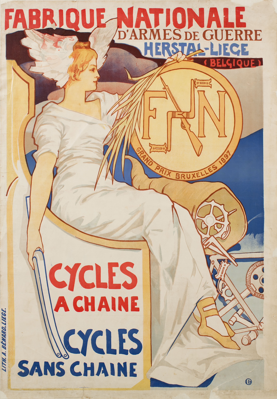 Émile Berchmans - Fabrique Nationale d'Armes de Guerre - Cap a 1898