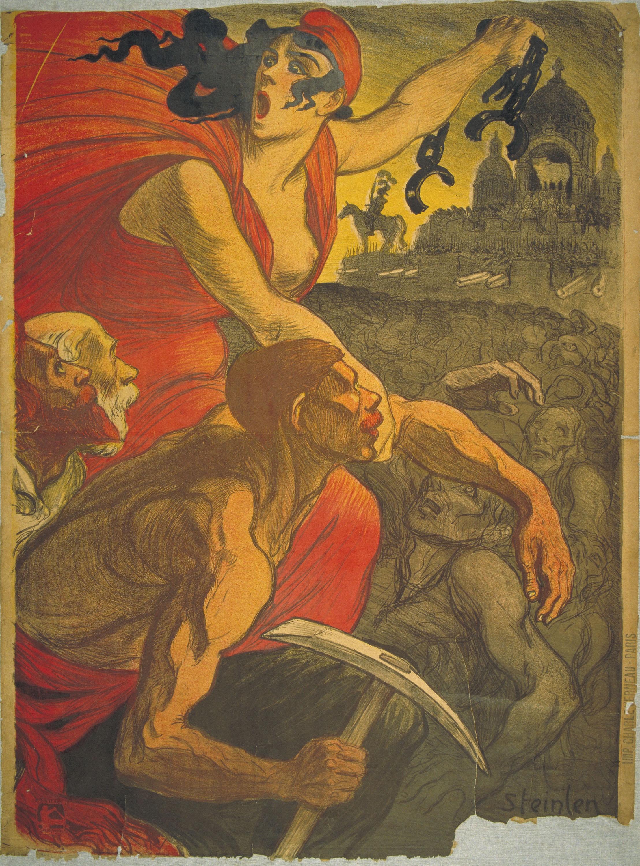 Théophile Alexandre Steinlen - [Le Petit Sou] - 1900