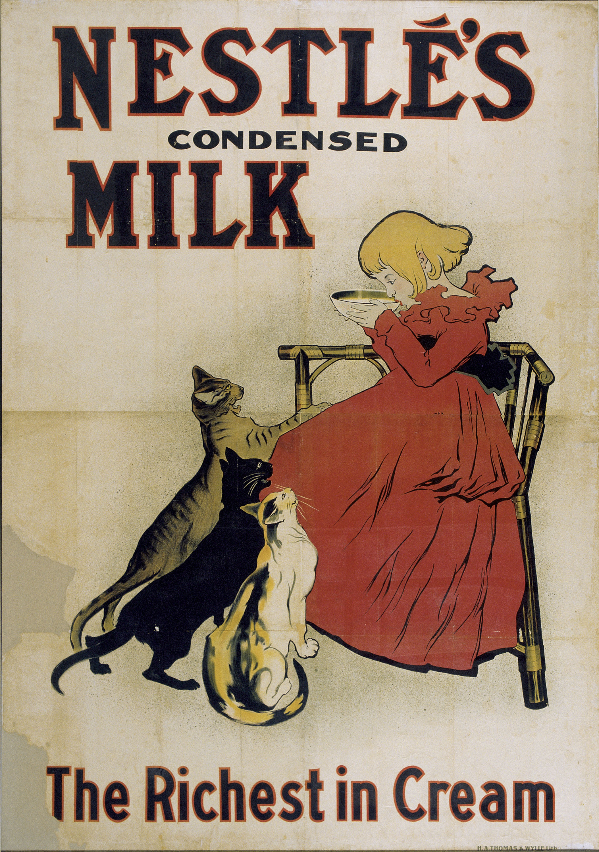Théophile Alexandre Steinlen - Nestlé's Condensed Milk - 1894 or 1895