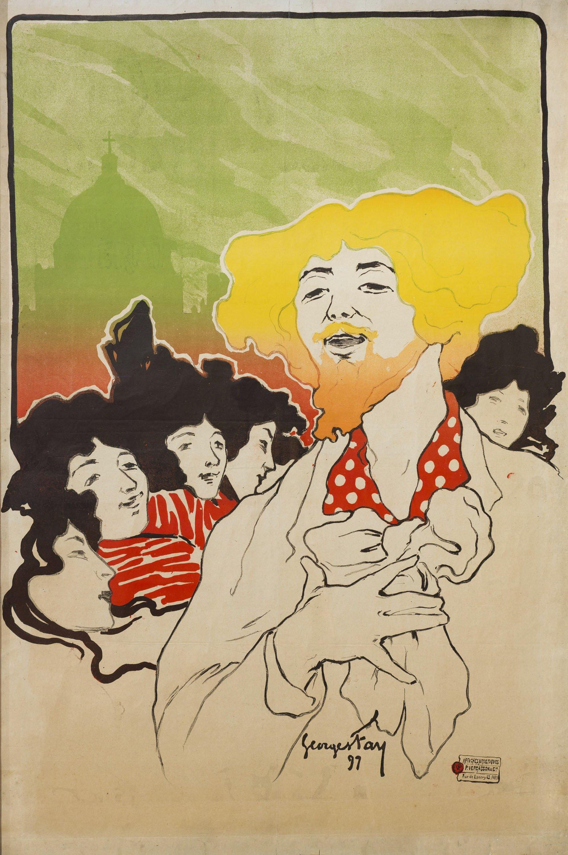 Georges Fay - [Le Quartier. Cabaret-Salon] - 1897
