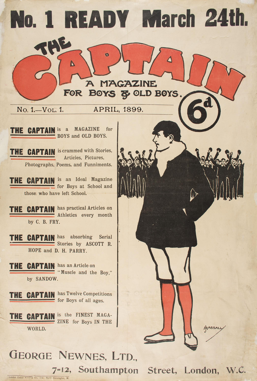 John Hassall - The Captain - 1899