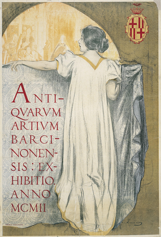 Ramon Casas - Antiqvarum artivm barcinonensis - 1902