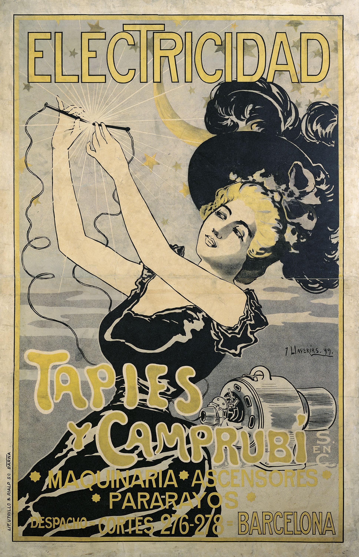 Joan Llaverias - Electricidad Tapies y Camprubí - 1899