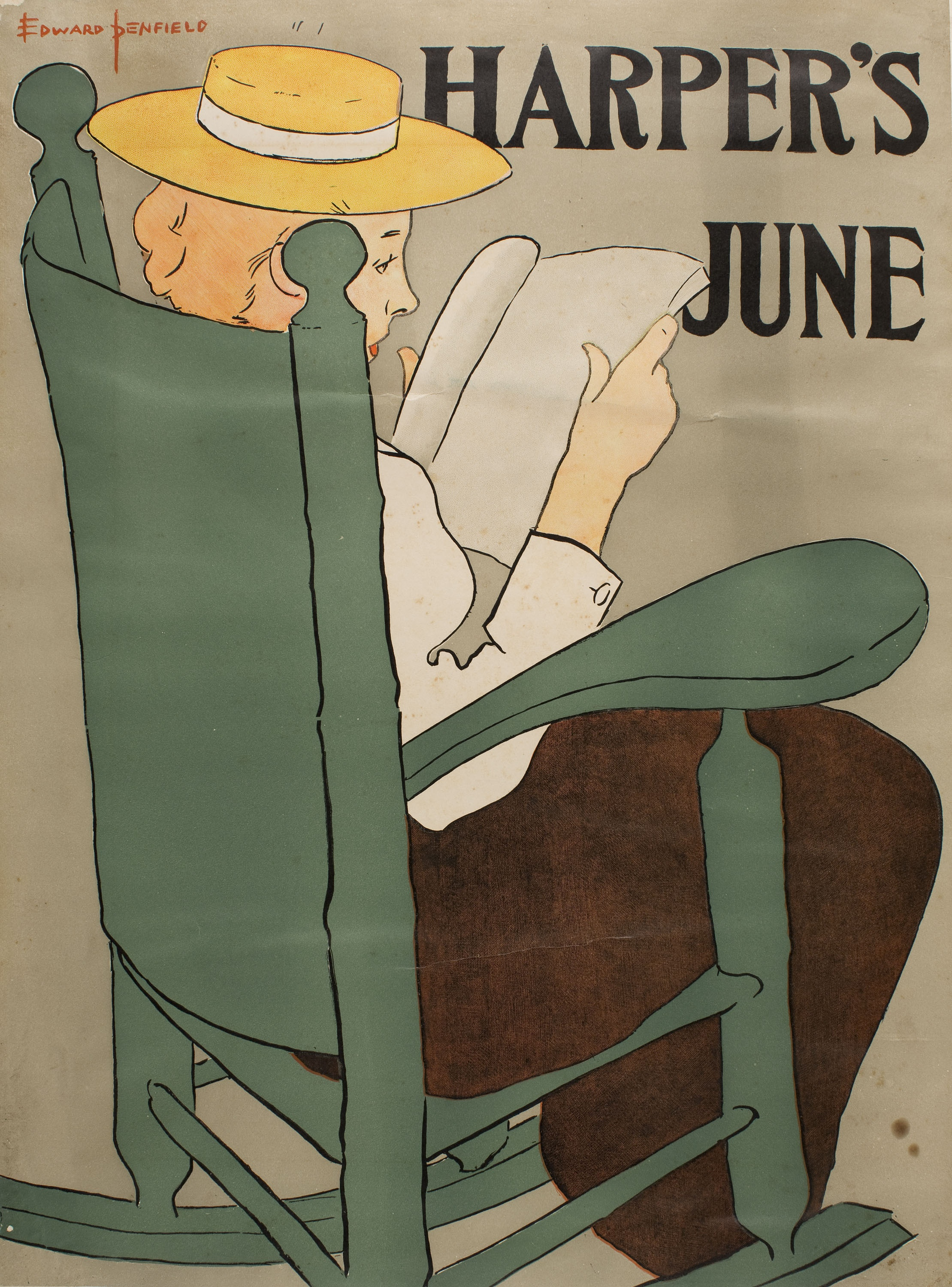 Edward Penfield - Harper's June - 1896